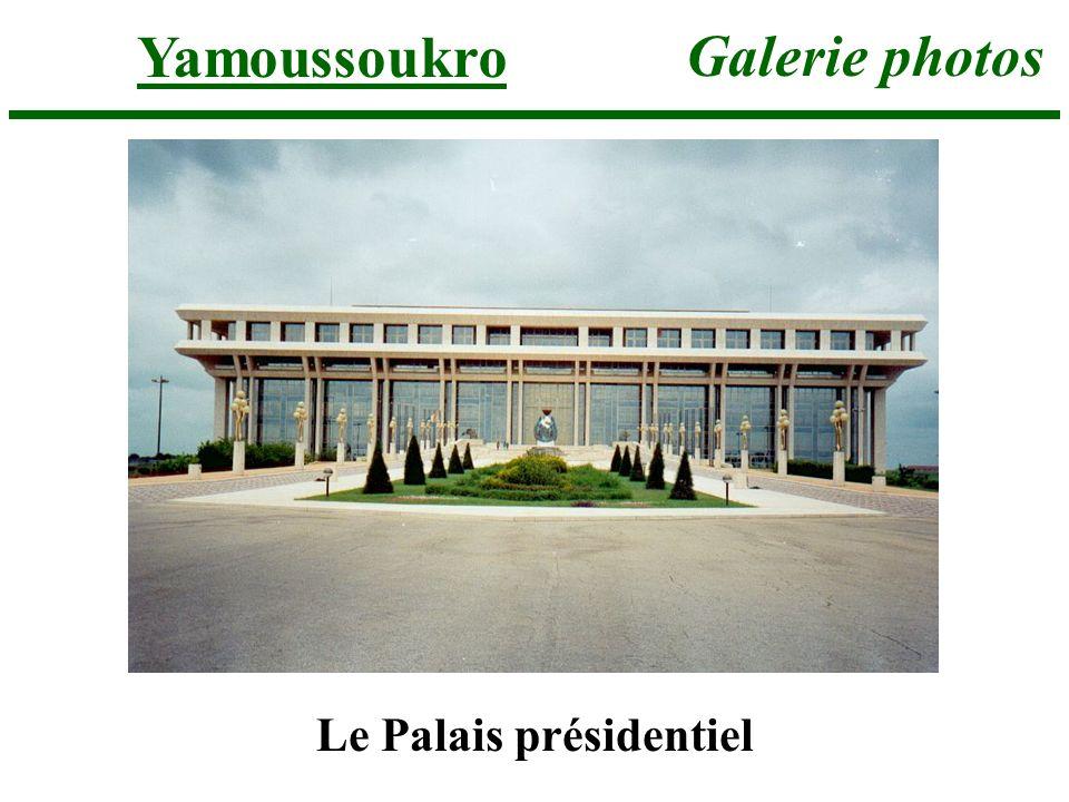 Yamoussoukro Galerie photos Le Palais présidentiel