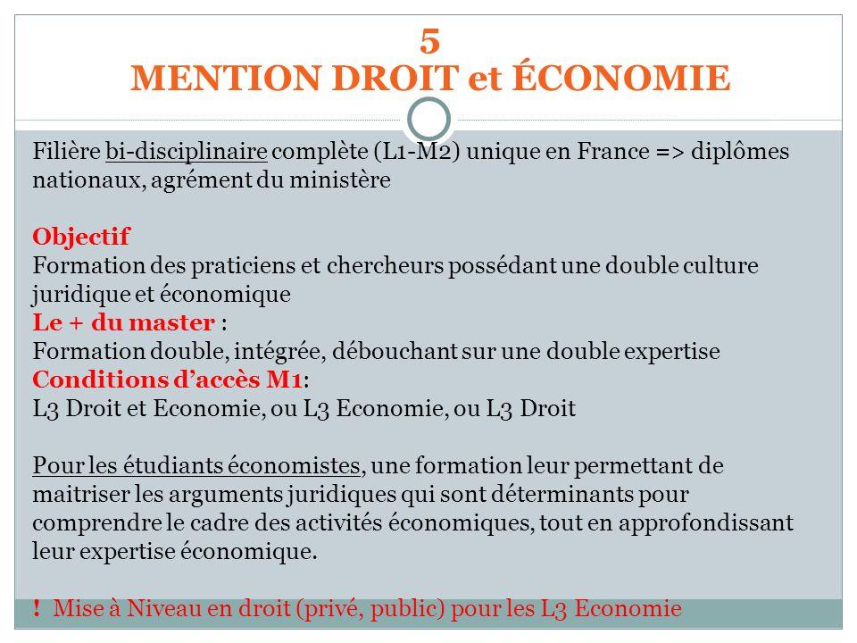 Filière bi-disciplinaire complète (L1-M2) unique en France => diplômes nationaux, agrément du ministère Objectif Formation des praticiens et chercheur
