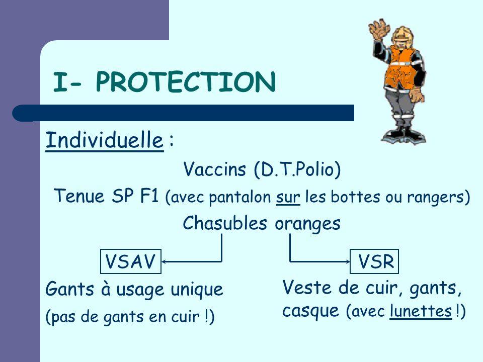 M.G.O. I- PROTECTION II- BALISAGE III- PROTECTION INCENDIE IV- ABORD DE LA VICTIME V- CALAGE & ARRIMAGE VI- CRÉATION DOUVERTURES VII- DESINCARCERATION