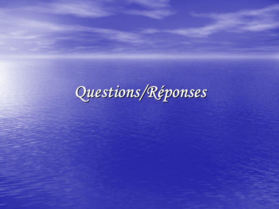 Questions/Réponses