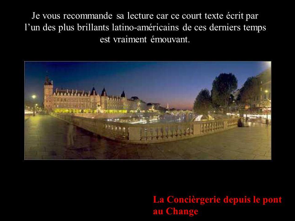 Place de la Concorde, au crépuscule… Si pour un moment Dieu pouvait oublier que je suis une marionnette de chiffon et me donner en cadeau une parcelle de vie, jen profiterais le plus possible.