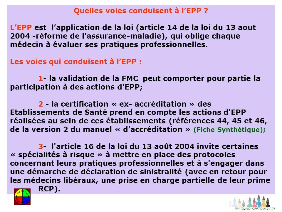 21 EPP : Qui fait quoi .