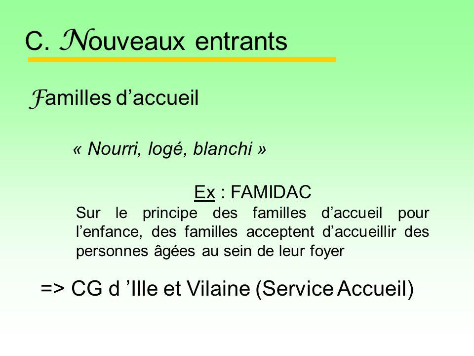 F amilles daccueil C.