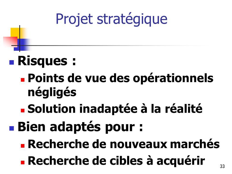 34 Projet technique : caractéristiques Conduit et réalisé par la technostructure Mobilisation de ressources spécialisées Approches technologiques