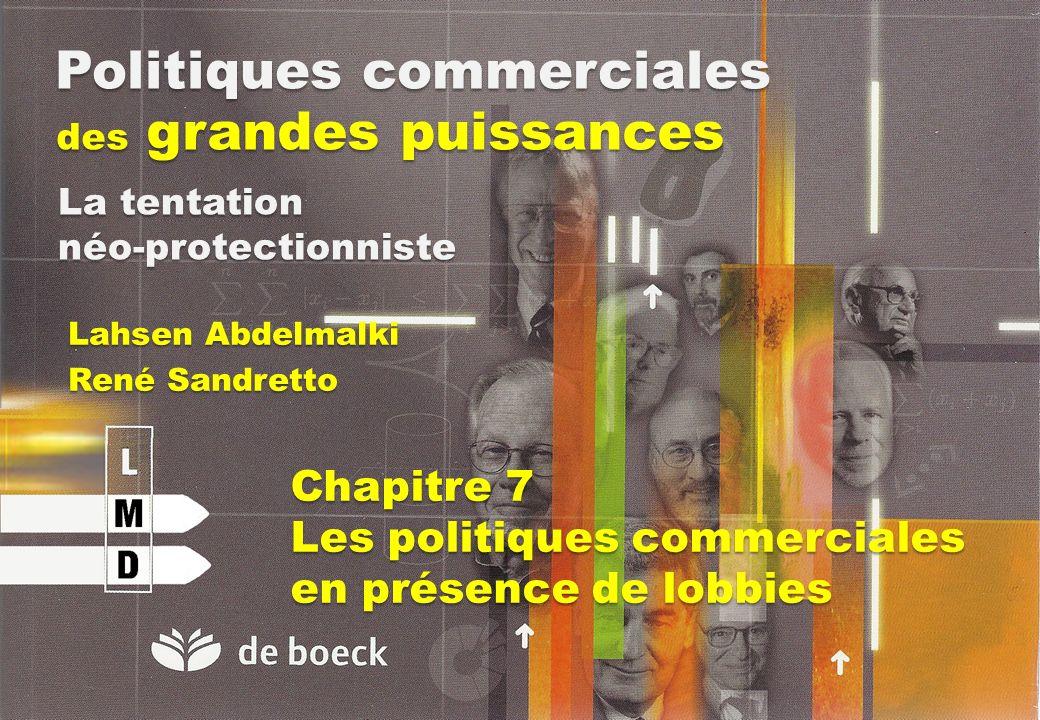 Politiques commerciales des grandes puissances Lahsen Abdelmalki René Sandretto La tentation néo-protectionniste Chapitre 7 Les politiques commerciale