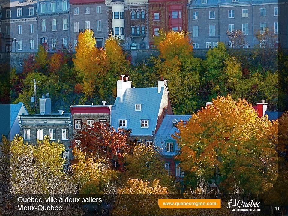 Québec, ville à deux paliers Vieux-Québec 11