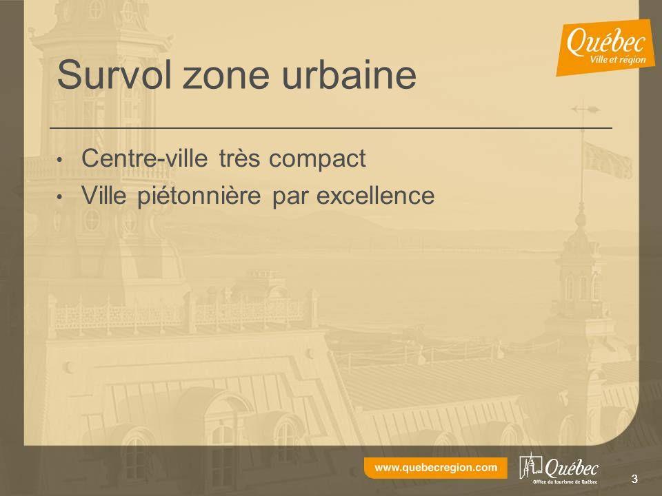 33 Survol zone urbaine Centre-ville très compact Ville piétonnière par excellence