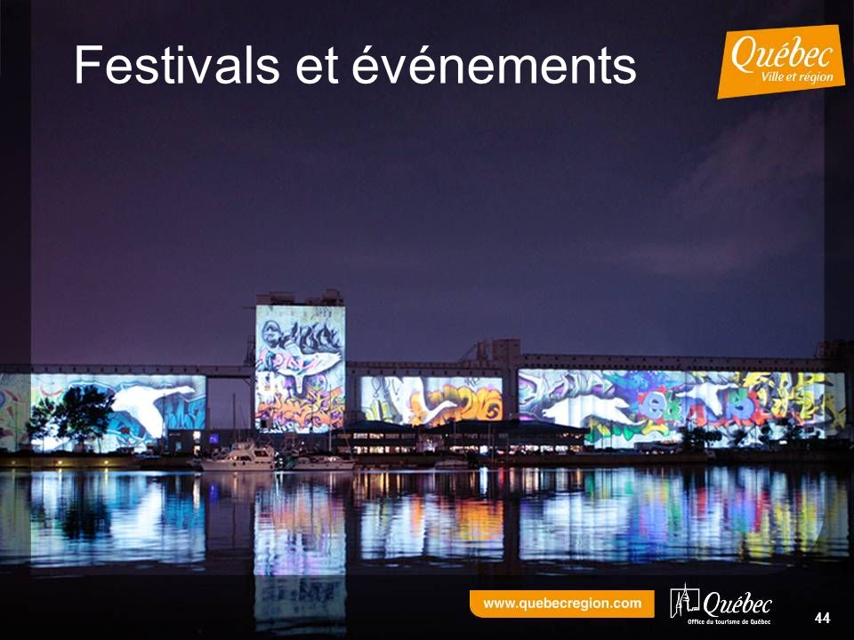 44 Festivals et événements