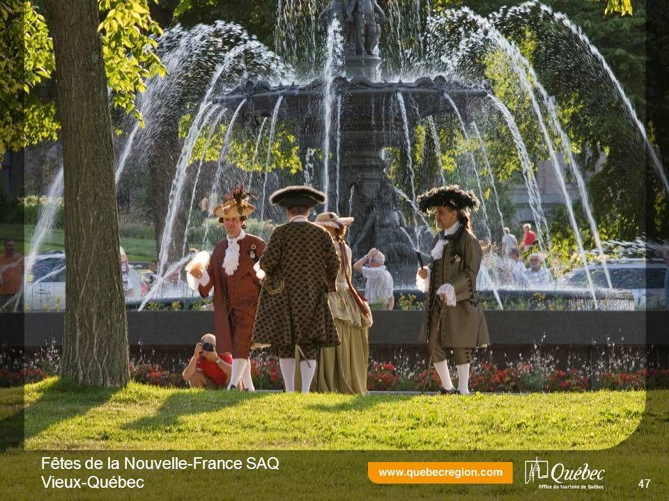 Fêtes de la Nouvelle-France SAQ Vieux-Québec 47