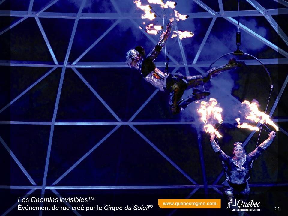 Les Chemins invisibles TM Événement de rue créé par le Cirque du Soleil ® 51