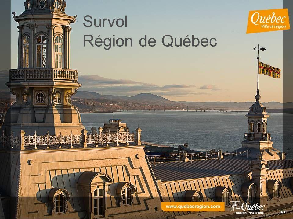 55 Survol Région de Québec 55