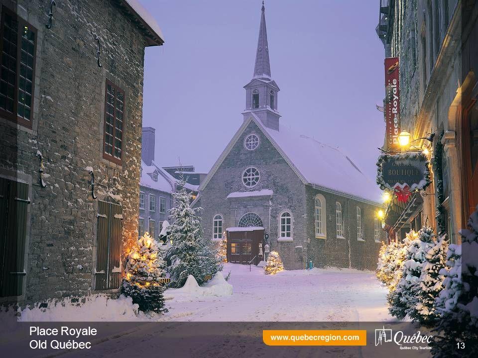 Place Royale Old Québec 13