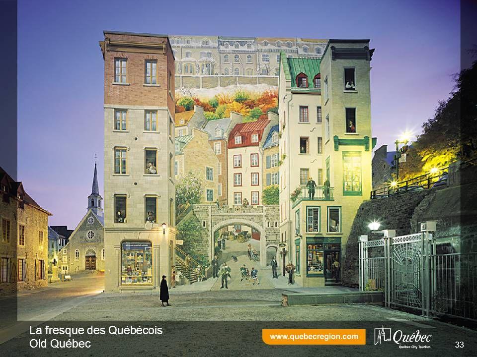 La fresque des Québécois Old Québec 33