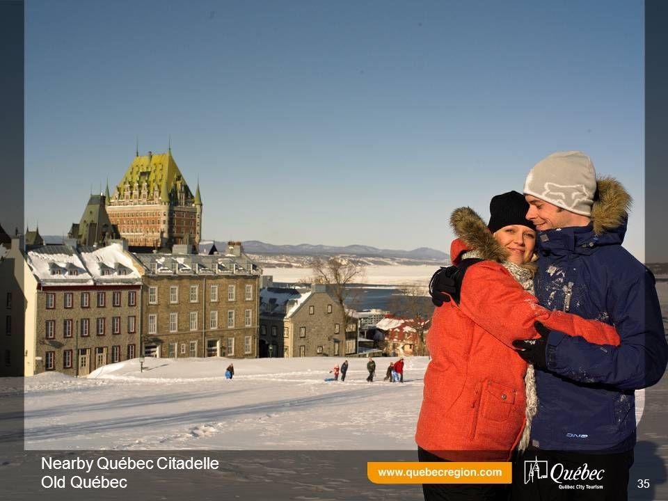 Nearby Québec Citadelle Old Québec 35