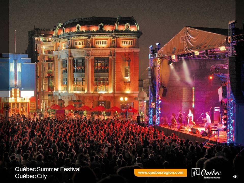 Québec Summer Festival Québec City 46