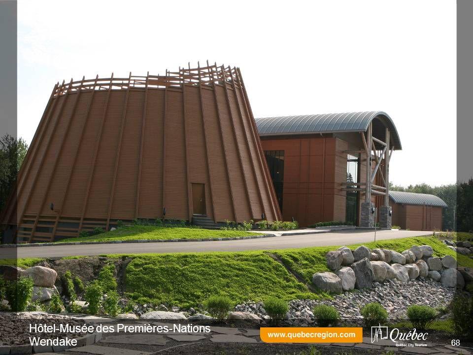 Hôtel-Musée des Premières-Nations Wendake 68