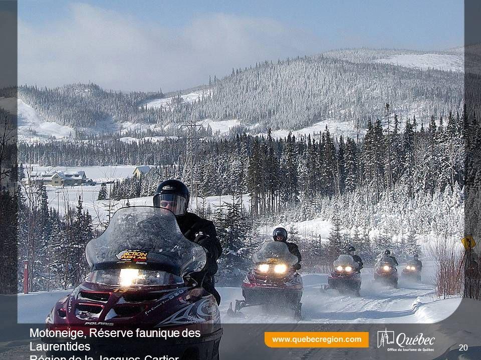 Motoneige, Réserve faunique des Laurentides Région de la Jacques-Cartier 20