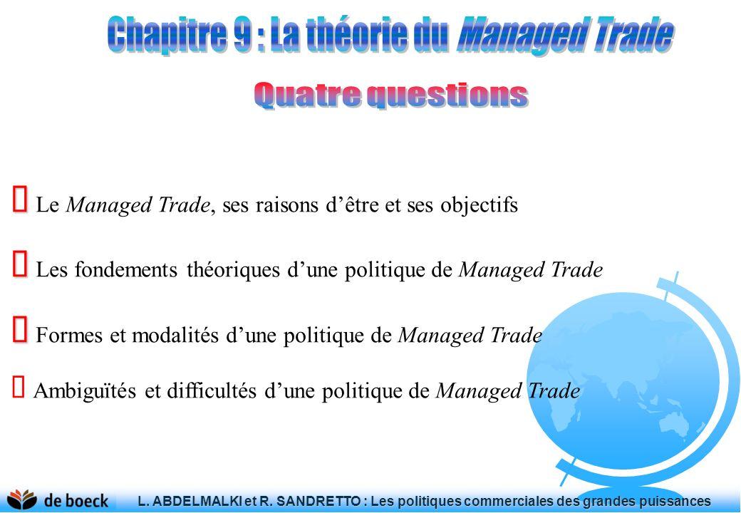 L.ABDELMALKI et R. SANDRETTO : Les politiques commerciales des grandes puissances L.