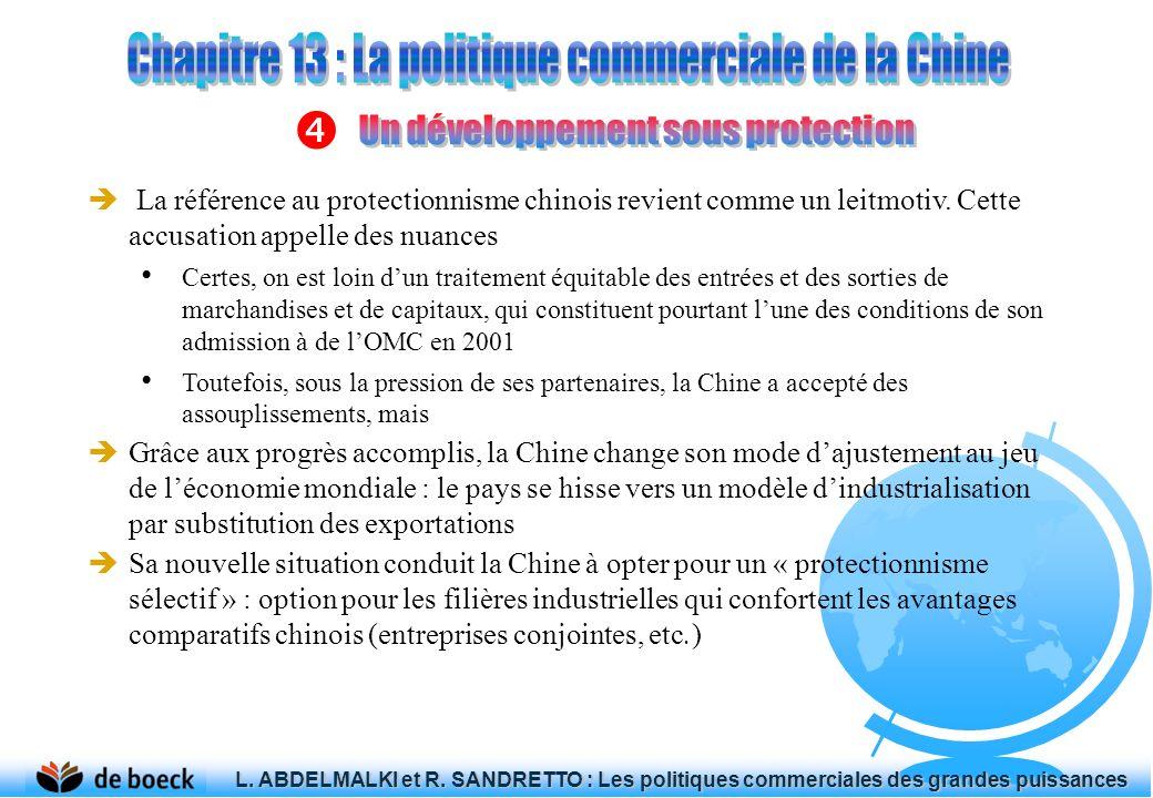 La référence au protectionnisme chinois revient comme un leitmotiv.