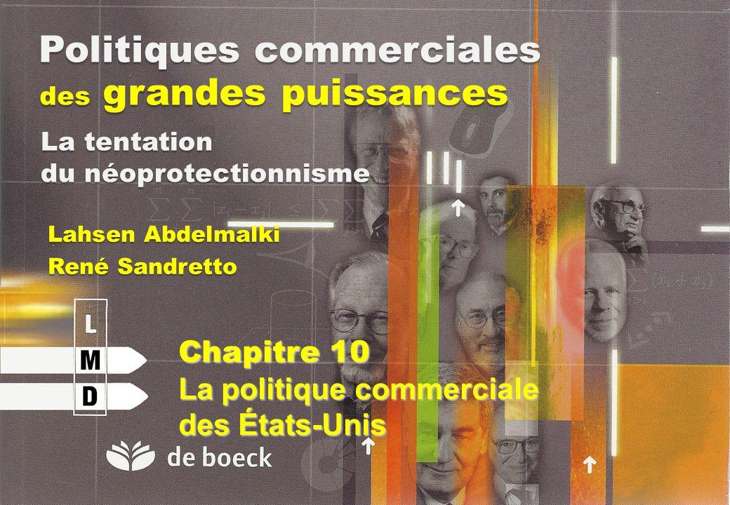 Politiques commerciales des grandes puissances Lahsen Abdelmalki René Sandretto La tentation du néoprotectionnisme Chapitre 10 La politique commercial