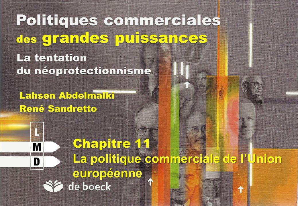 Politiques commerciales des grandes puissances Lahsen Abdelmalki René Sandretto La tentation du néoprotectionnisme Chapitre 11 La politique commercial
