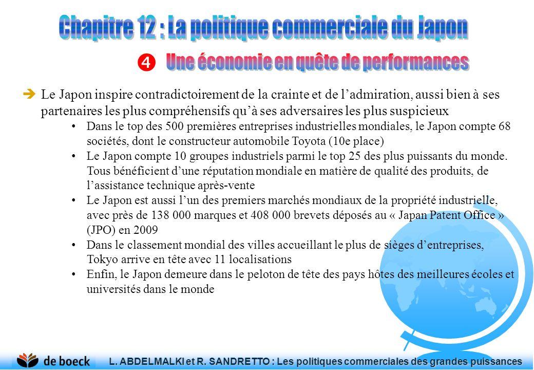Si la crise de 1973-1979 avait révélé limpréparation de lEurope aux chocs extérieurs, elle est pour le Japon loccasion de restructurations industrielles importantes La priorité est donnée à une nouvelle génération dindustries (automobiles, électronique, machines-outils - qui bénéficient de méthodes de production inédites En 1985, le fameux accord du Plaza oblige le Japon à réévaluer fortement le yen.