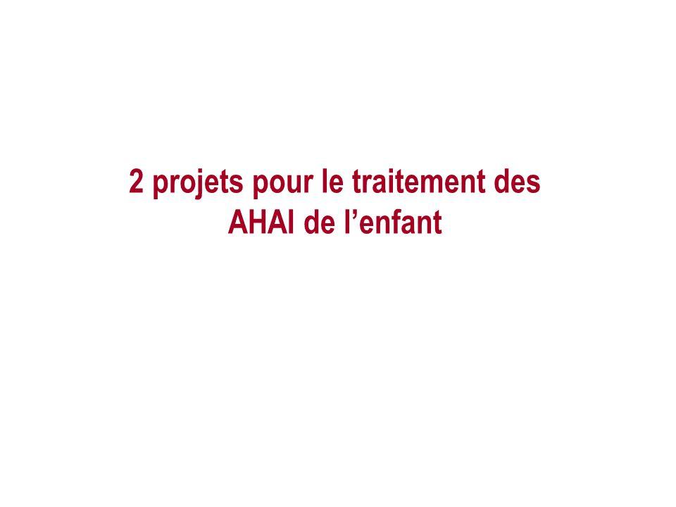 2 projets pour le traitement des AHAI de lenfant