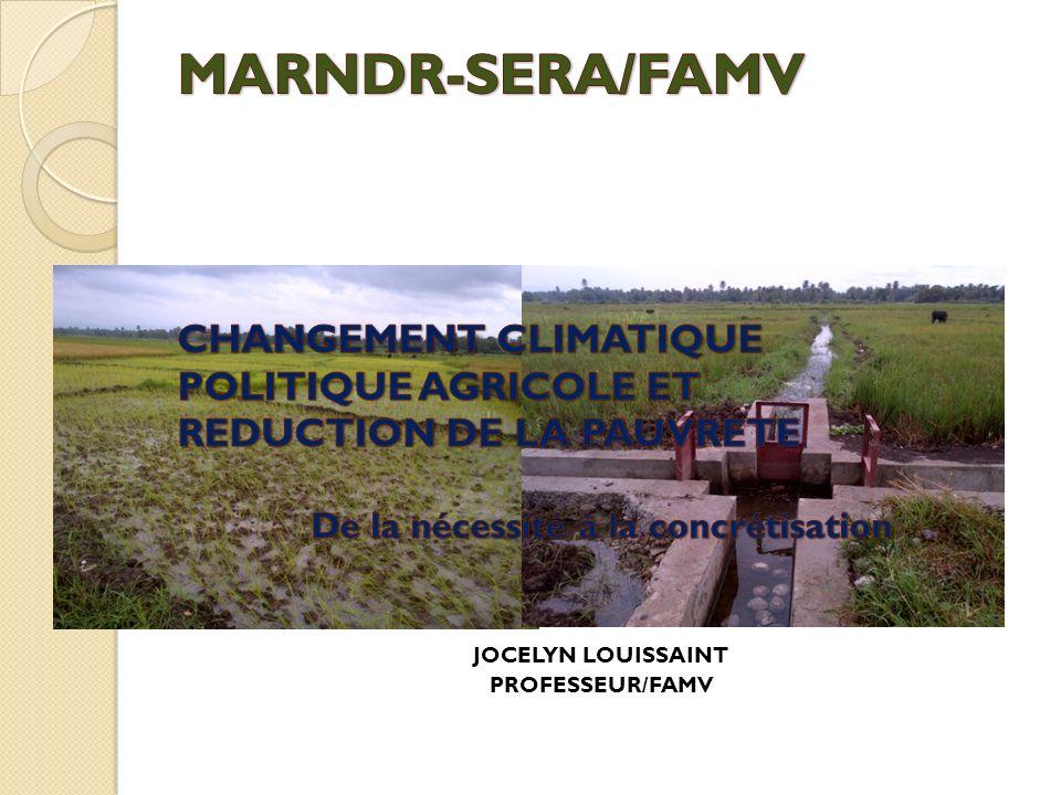 Plan de présentation 1.Contexte actuel dHaïti face aux impacts des changements climatiques 2.