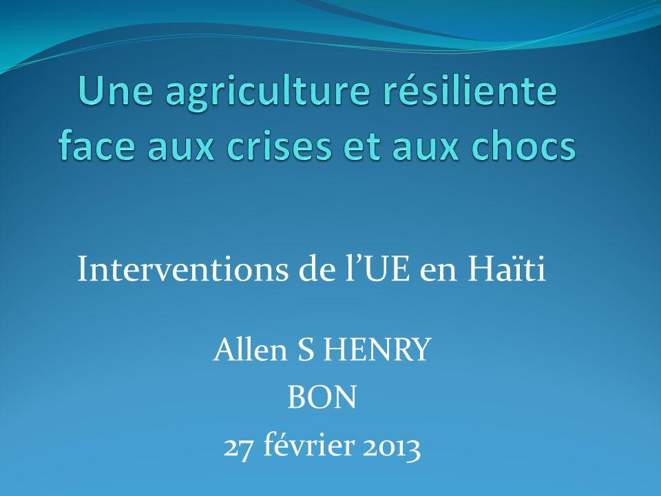 Département de lOuest Cabaret Reprofilage de la Rivière Bretelle Ti-Ginen Reprofilage de la ravine Port-au-Prince Interventions concrètes