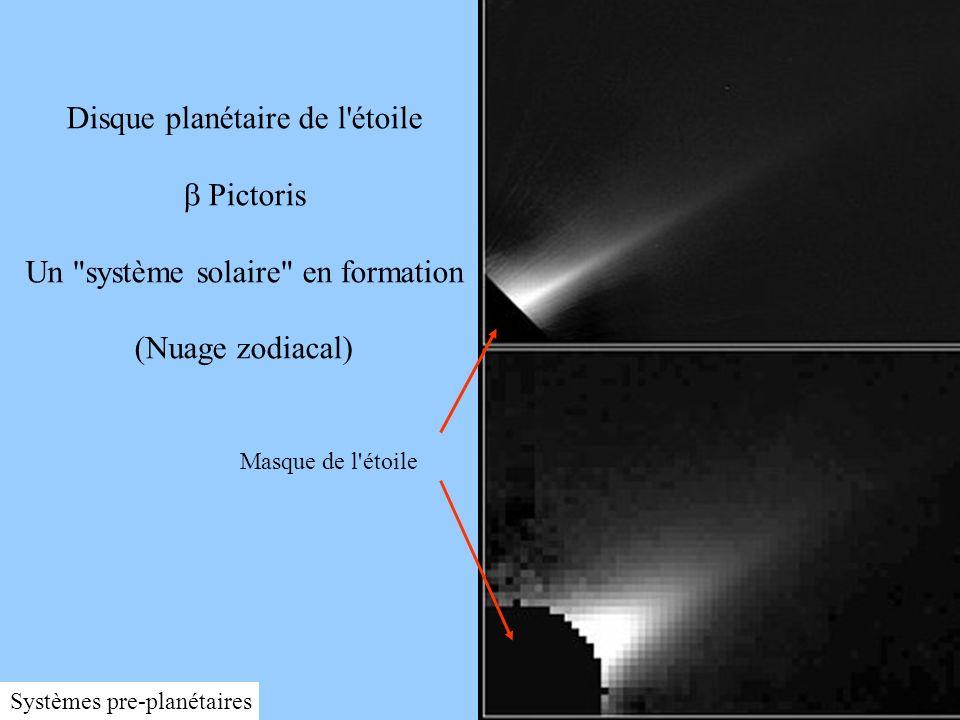 21 betaPicZodi95-39.jpg Disque planétaire de l'étoile Pictoris Un