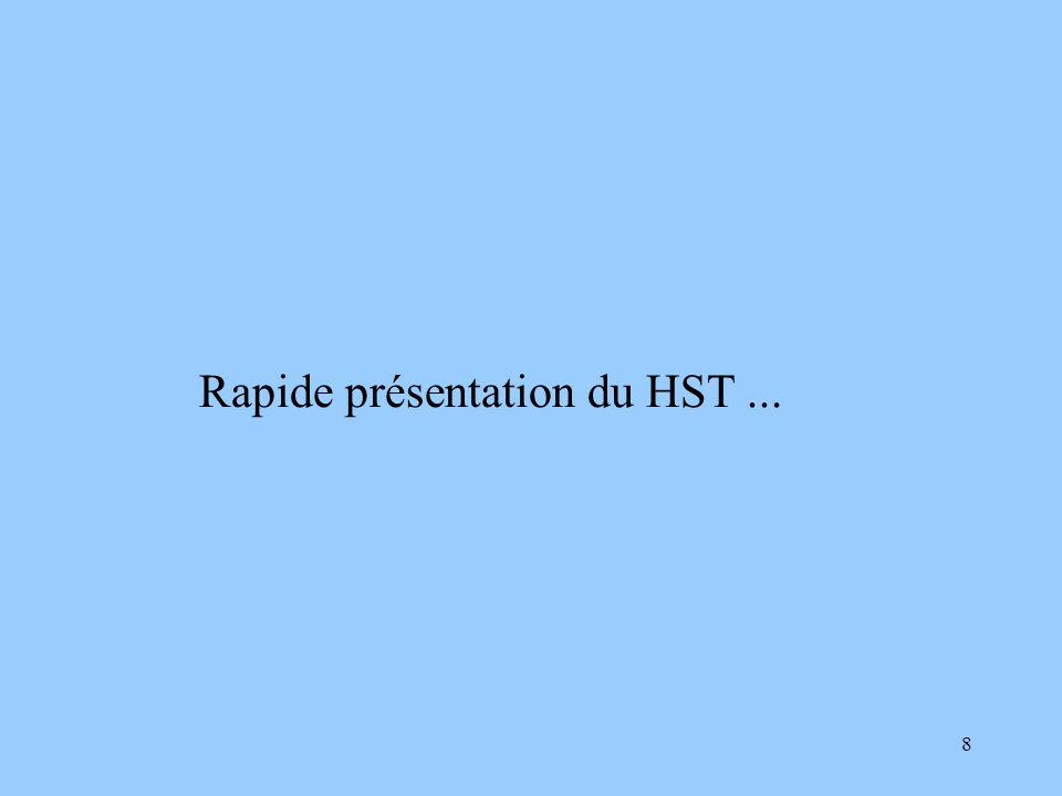 8 Rapide présentation du HST...