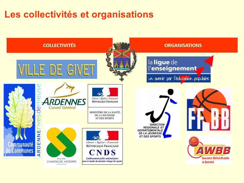 Les collectivités et organisations COLLECTIVITÉS ORGANISATIONS