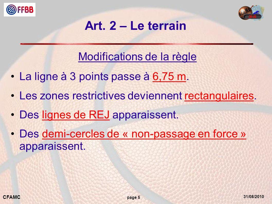 31/08/2010 CFAMC page 16 Art.