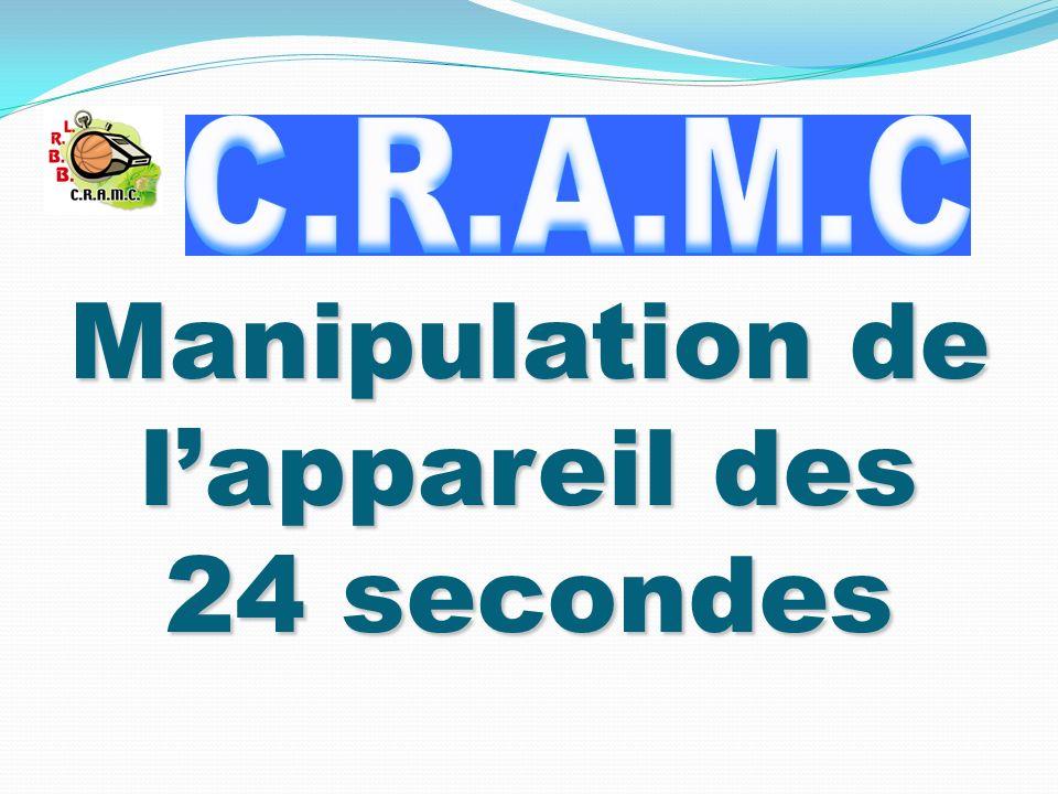 Manipulation de lappareil des 24 secondes