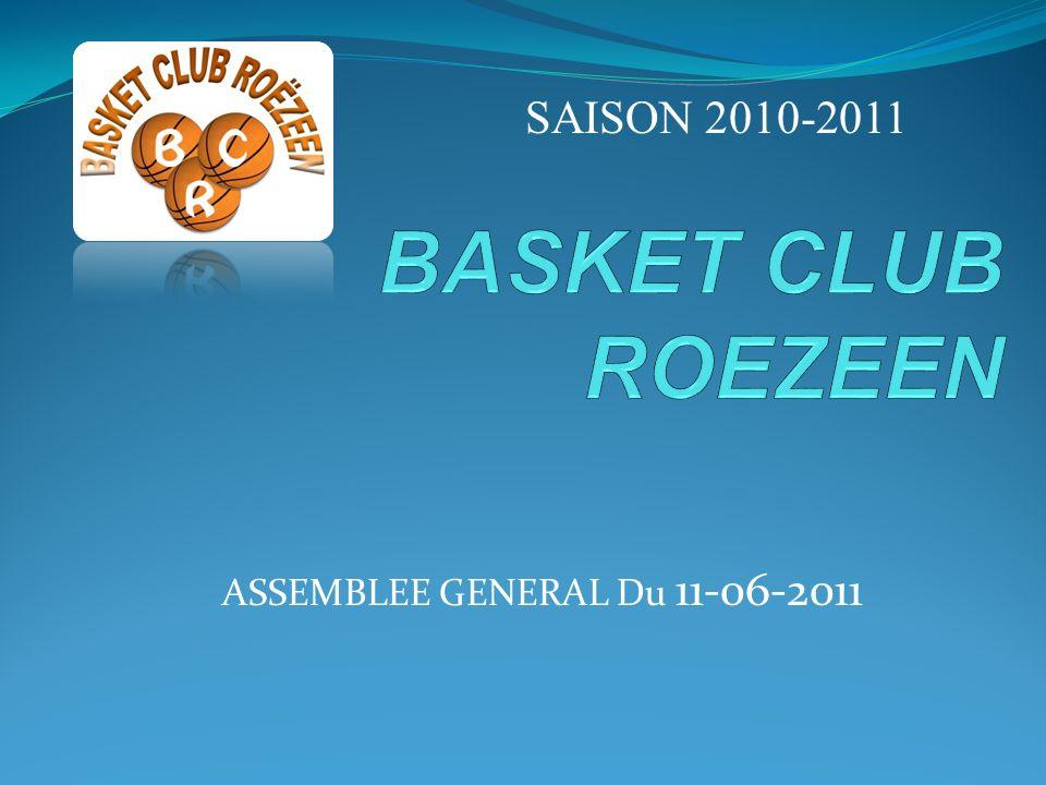 ASSEMBLEE GENERAL Du 11-06-2011 SAISON 2010-2011
