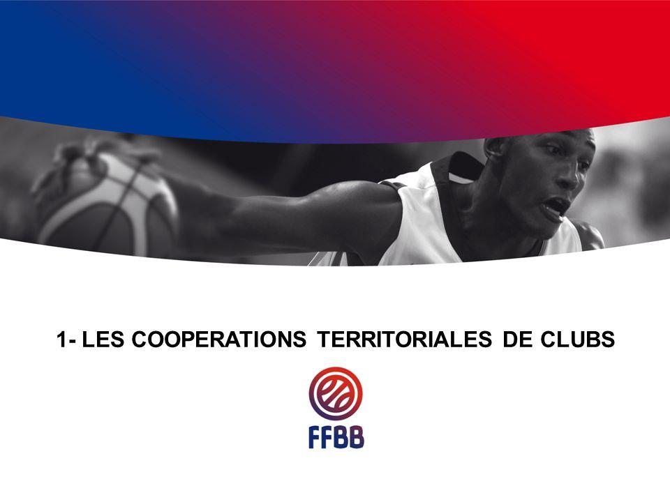 1- LES COOPERATIONS TERRITORIALES DE CLUBS