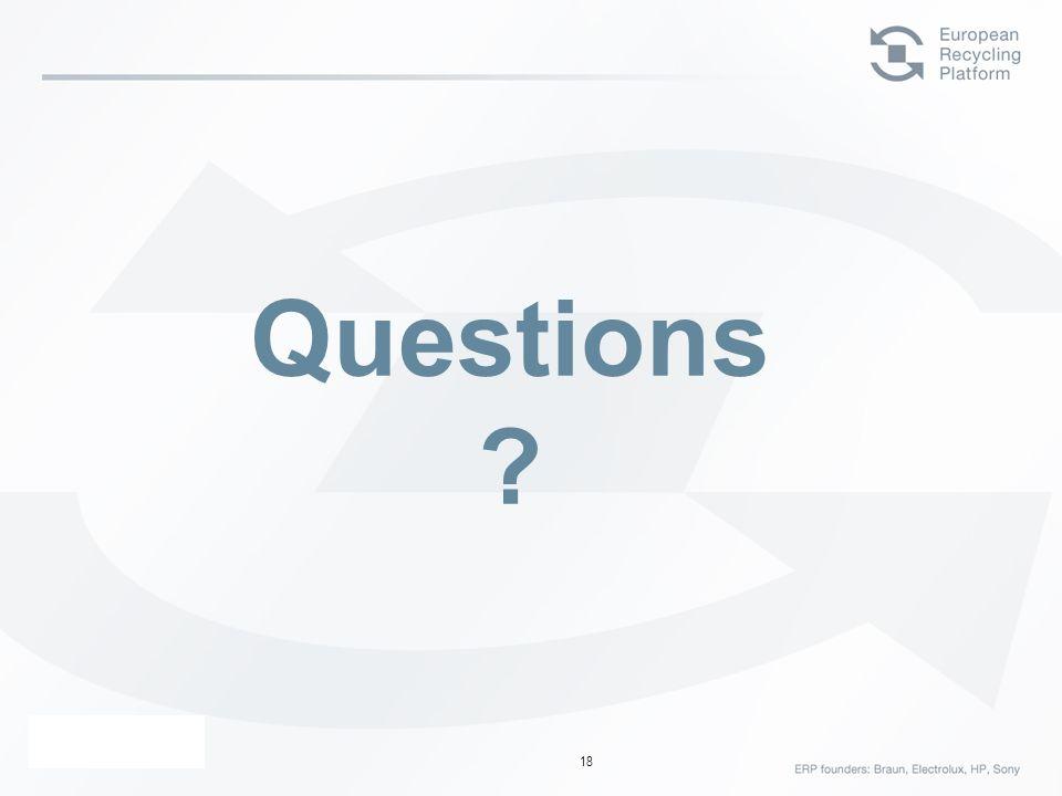 ERP – 23 Février 06 18 Questions ?