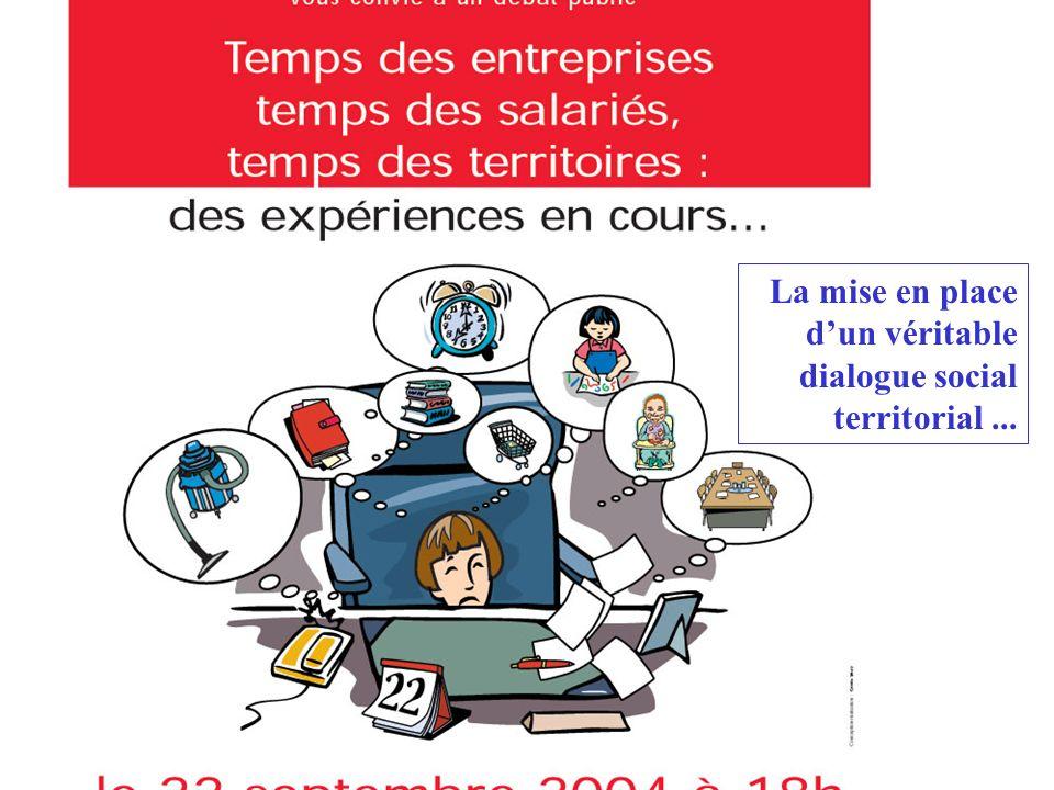 Expérimenter Permettre aux salariés dun territoire de mieux gérer leurs temps de vies : réduire les contraintes de déplacements professionnels mieux g