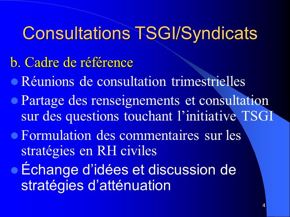 4 Consultations TSGI/Syndicats b.