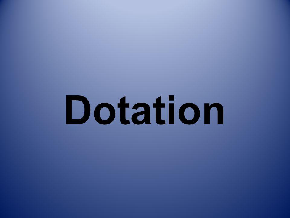 Dotation