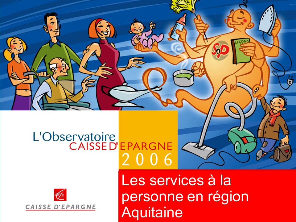 2 Panorama macro-sectoriel des services à la personne en région Aquitaine Focus régional 45 millions dheures travaillées en 2003, soit plus de 28 000 équivalents temps plein Près de 66 000 salariés soit 7,7% de lemploi salarié de la région Près de 145 000 ménages employeurs directs de services à la personne, soit 11,5% des ménages environ 690 organismes agréés de services à la personne dont 31 entreprises privées (fin 2004) 45 millions dheures consommées, soit 36 heures par ménage et par an en 2003 Un budget annuel de 511 millions deuros, soit 405 euros par ménage et par an en 2003 (avant aides et déductions fiscales)