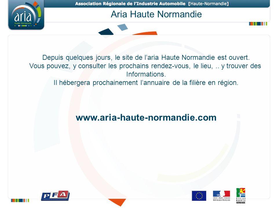 Aria Haute Normandie Depuis quelques jours, le site de laria Haute Normandie est ouvert. Vous pouvez, y consulter les prochains rendez-vous, le lieu,.