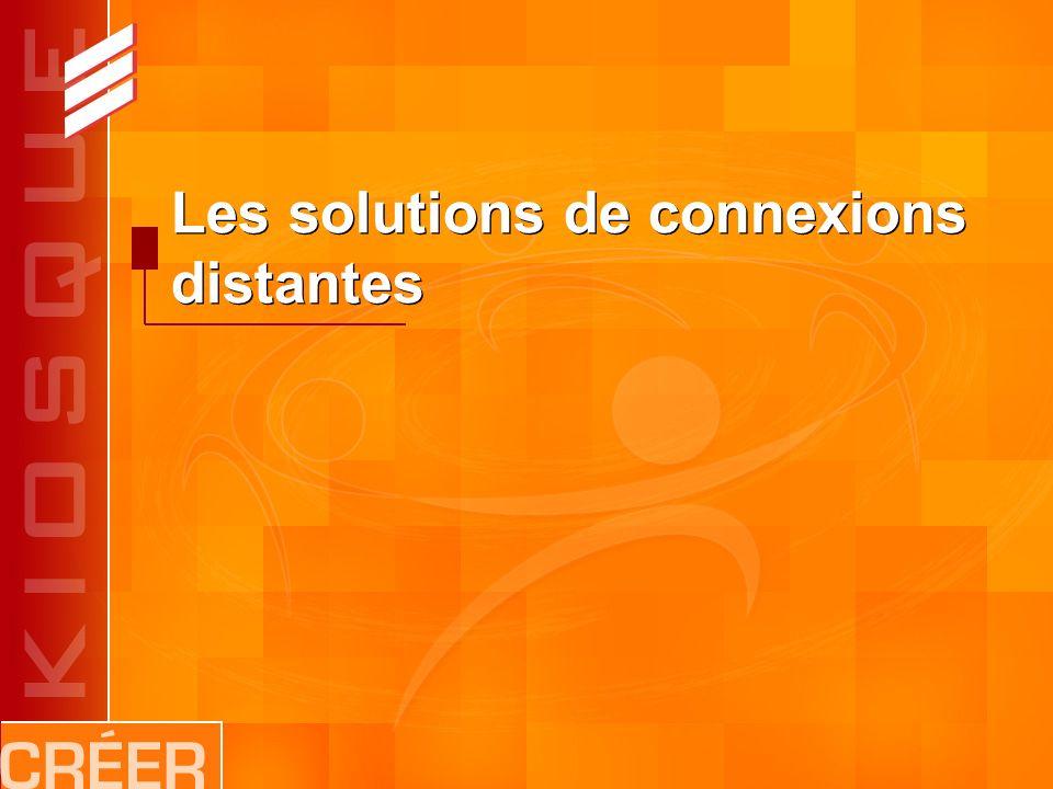 Les solutions de connexions distantes