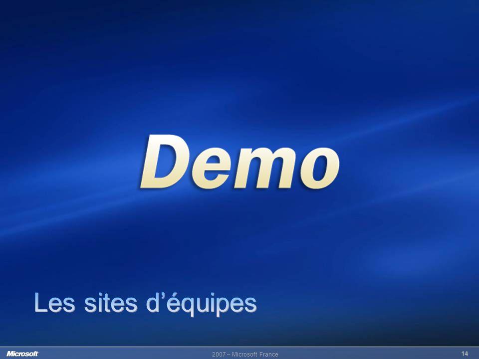 2007 – Microsoft France 14