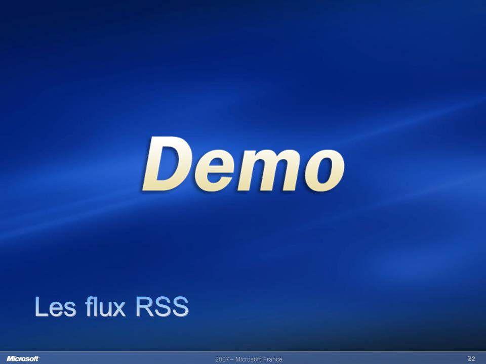2007 – Microsoft France 22