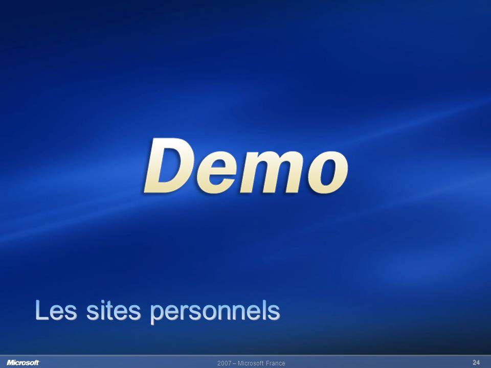 2007 – Microsoft France 24