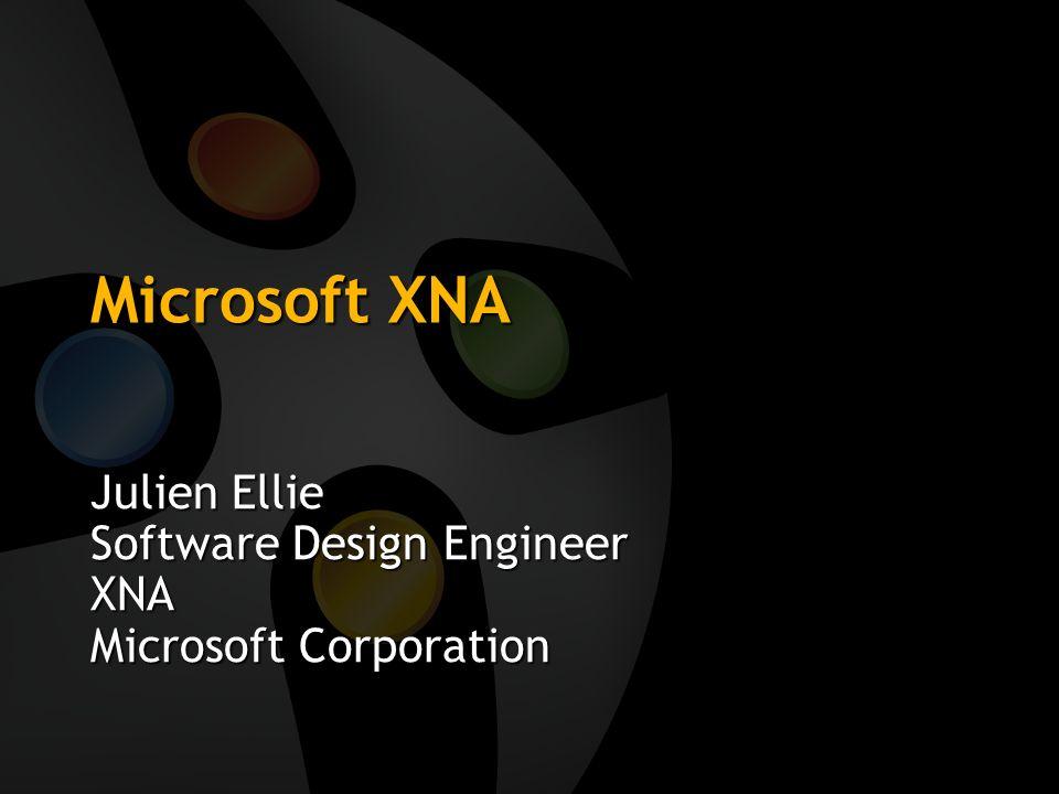 XNA Game Studio PRO Jeux commerciaux Base sur Visual Studio.Net, C#, autre langages possibles XNA Framework Déploiement facile PC et Xbox 360, 95% réutilisation de code