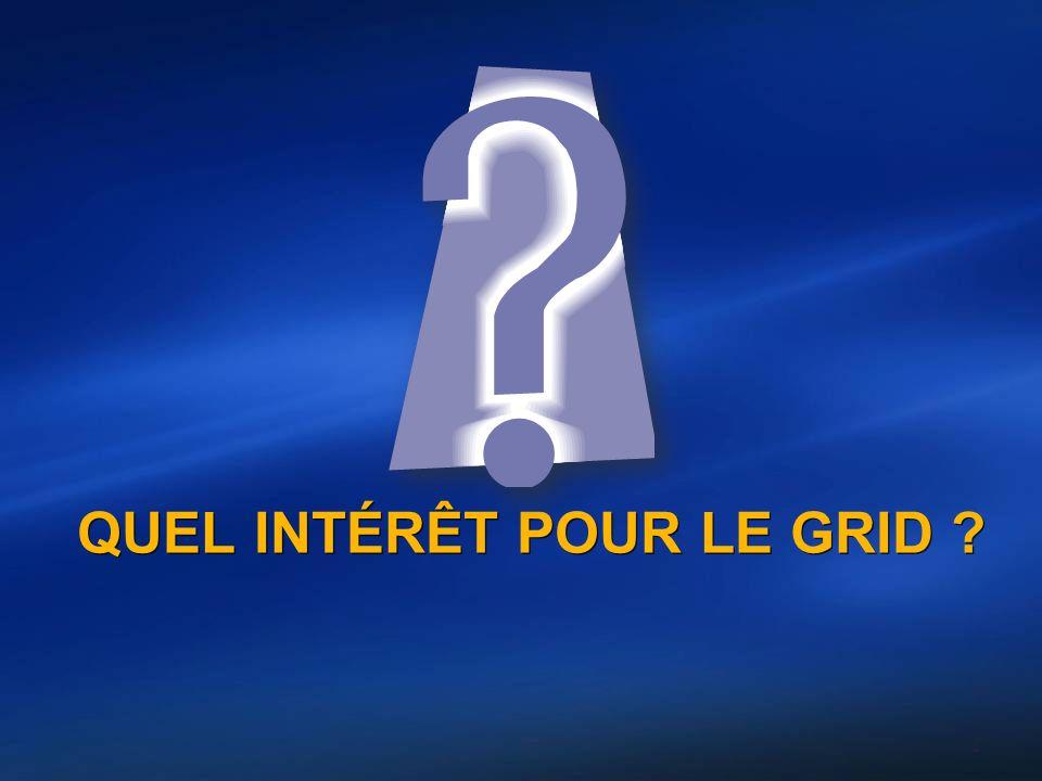 QUEL INTÉRÊT POUR LE GRID ? 2
