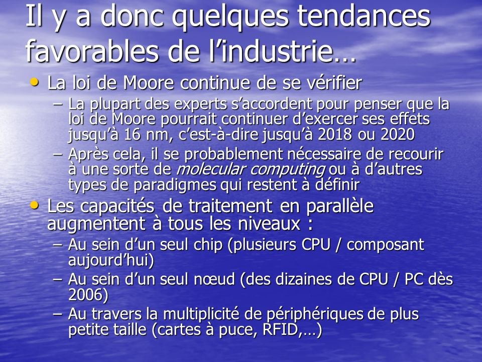 Les 12 travaux dHercule (daprès Jim Gray, MS Research) 10.