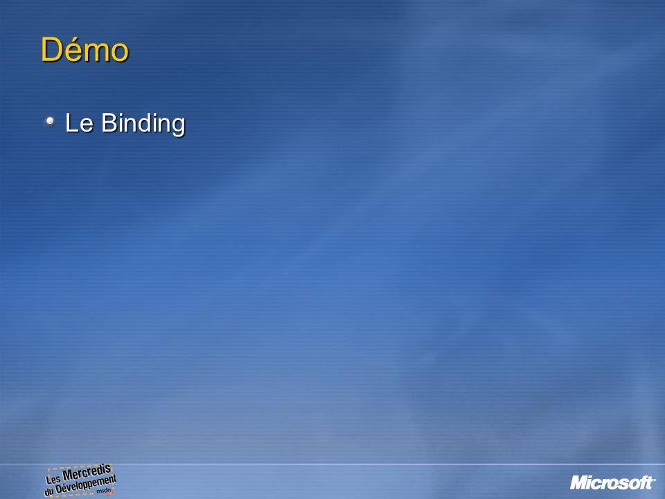 Démo Le Binding